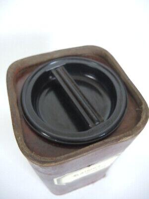 Apothekerdose Pappe Bakelit Aufbewahrung um 1900 6