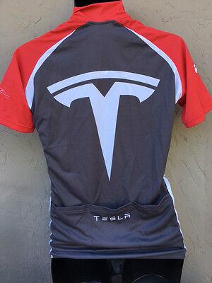 b49483657 TESLA CYCLING JERSEY Bicycle clothing men s Bike shirt top -  65.00 ...