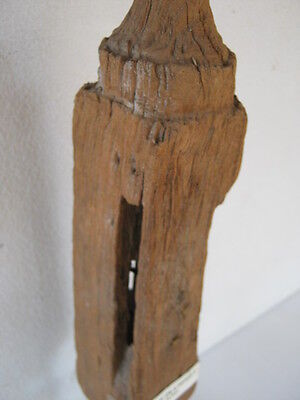 Antique wood roof gable finial 3