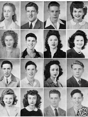 1945 Kansas City MO Central High School Yearbook~Photos~History~Football~WWII 2