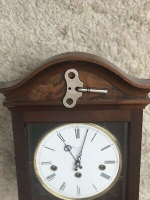Comitti Of London Palladian Wall Clock Westminster Chimes - Model C3871CH 4
