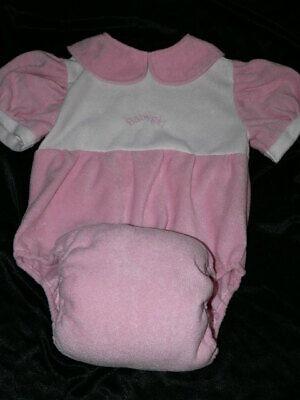 Z74* Adult Baby Sleeping Body*Spreizbody*diaper onsie Spreading Romper BABYGIRL 4