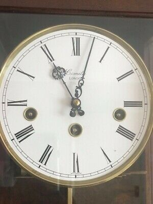 Comitti Of London Palladian Wall Clock Westminster Chimes - Model C3871CH 2