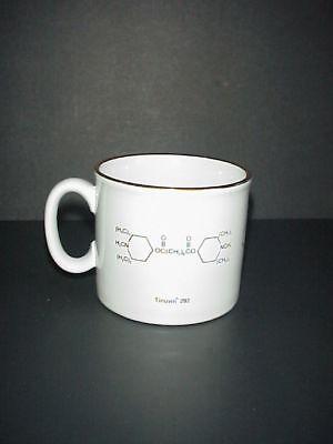 Chimica Tazza di Caffè Tinuvin Irgacure Molecules Realizzato Inghilterra 2