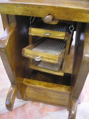 LIMPIADOR de cereales de madera, nuevo, artesanal 8 • EUR 94,90