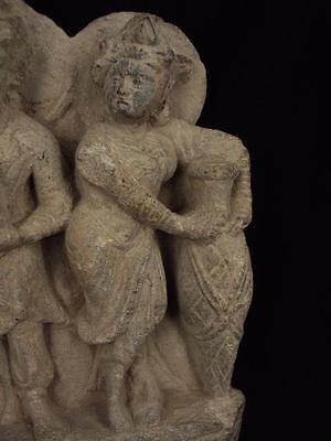 Ancient Large Size Schist Stone Stupa Panel Gandharan/Gandhara 100 AD  #SG2103 7