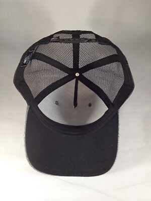 d4f25e6d360160 ... Justin Bieber Trucker Hat Black Grey Snap Back Style New Blank Cap Mesh  Back 7