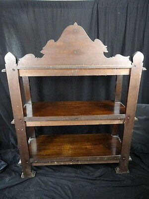 Large Finest Antique 19th Century Carved Kings Black Forest Oak Buffet Sideboard 4