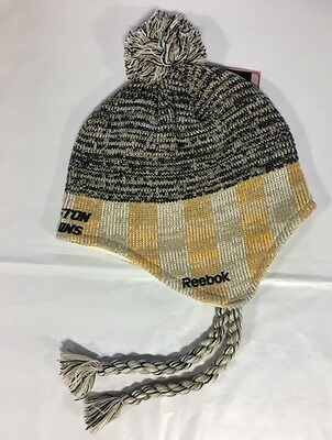0b792a394 ... Boston Bruins Knit Beanie Toque Winter Hat Skull Cap - NHL New Long  Braids $20 2