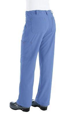 New koi 715 Alicia Pant Sapphire Four-Way Stretch Scrubs Cargo Pant Petite only!