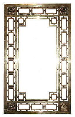 Bronze Entry Doors with Transom #509 2