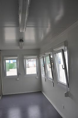 Portable Building New Modular Building 3 Bays 20' x 24' / 6m x 7.5m Site Office