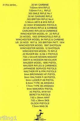 High Standard Hi-Standard .22 Pistols Assembly, Disassembly Manual