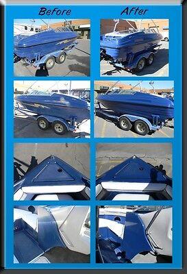 COSTACOAT 1 QT  Gel Coat Shine Revitalizer RV Boat Restoration Fiberglass  Paint