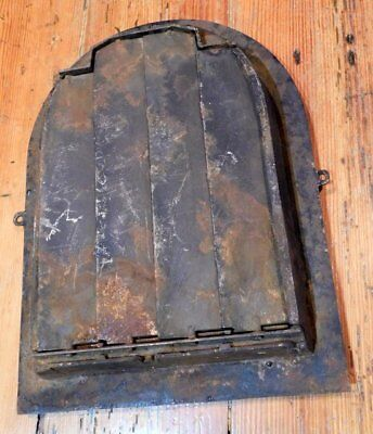 Antique Cast Iron Floral Grate - Vent AWESOME - Tombstone 5