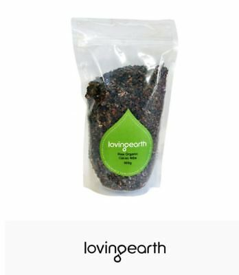 2 x 500g LOVING EARTH Raw Organic Cacao Nibs 1kg * FREE POST *