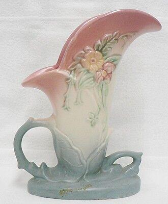 Vintage Hull Art Pottery 8 12 Cornucopia Vase Number W 10 6800