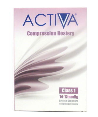 Activa Class 1 Compression Socks Below Knee Compression Hosiery | Select Size
