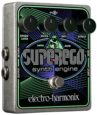 New Electro-Harmonix EHX Superego Polyphonic Synth Engine Guitar Effect Pedal 2