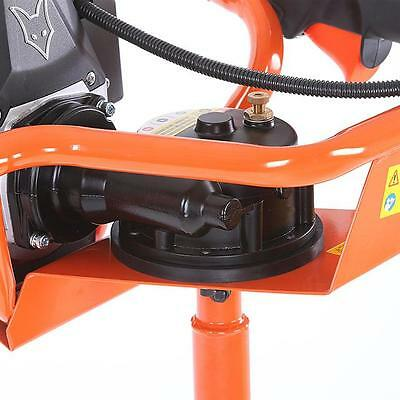FX-EB152 Benzin Erdbohrer Erdbohrgerät Erdlochbohrer Pfahlbohrer EISBOHRER NEU 11