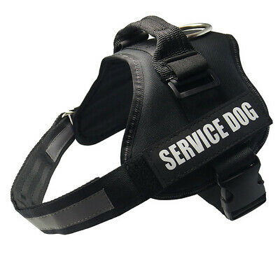 Service Dog Vest Harness Adjustable Patches Reflective Small Large Medium XS-XL 3