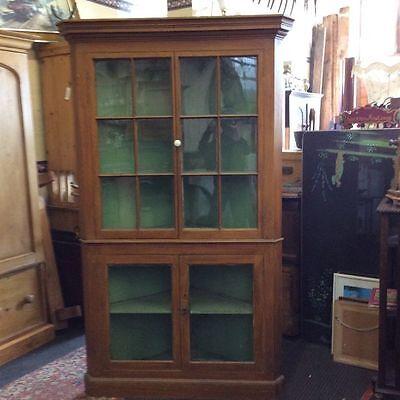 A Victorian corner cupboard 2