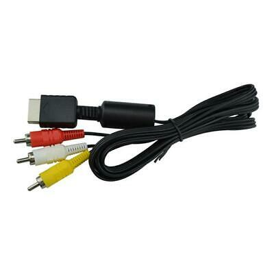 Playstation 6ft RCA AV TV Audio Video Stereo Cable Cord For PS1 PS2 PS3 4