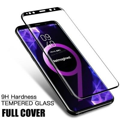 9D Screen Protector For Samsung Galaxy S8 S9 Plus Note 8 Note 9 Tempered Glass 7