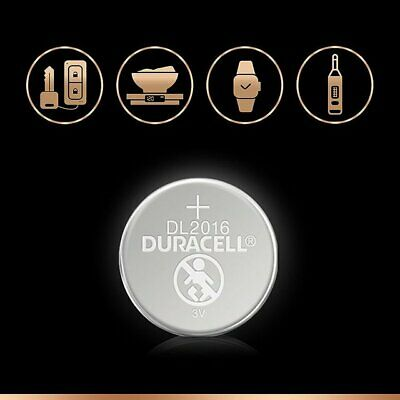10 x Duracell CR2016 3V Lithium Coin Cell Battery 2016, DL2016, BR2016, SB-T11 7