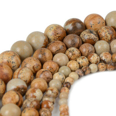 Wholesale Natural Matte Gemstone Round Spacer Loose Beads 4mm 6mm 8mm 10mm 12mm 8