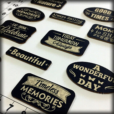 Chipboard Embellishments for Scrapbooking Scrap Words 271241b Cardmaking