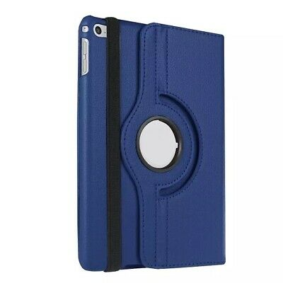 """For Apple iPad 7th Generation 10.2"""" (2019) 360° Rotating PU Leather Case Cover 12"""