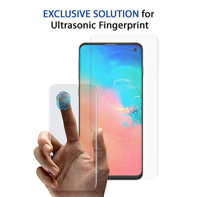 NUGLAS 3D Tempered Glass Screen Protector For Samsung Galaxy S10 S9 S8 Plus S10e 10