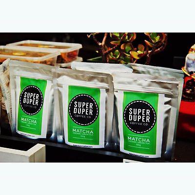 Super Duper Premium 100% Organic Macha Green Tea 100g Delivered 2