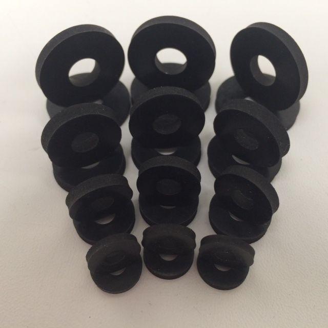 Gummischeiben,Unterlegscheibe Gummi,Gummiunterlegscheiben M3 M4 M5 M6 M8 M10 M12 3