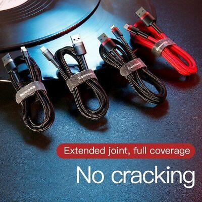 MFI Certified Baseus Fast Charging Lightning Data Sync Cable Apple iPhone iPad 3