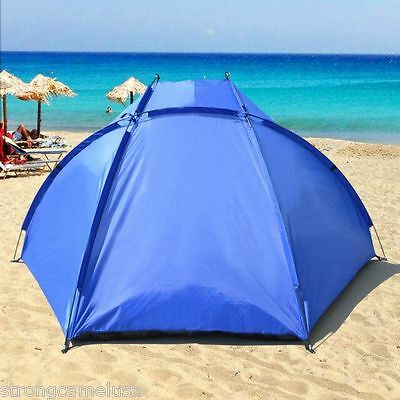 2 Of 7 Portable Beach Shelter Sun Shade Canopy Camping Fishing Tent Outdoor Sport