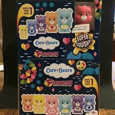CARE BEARS fashems-mashems one character per blind capsule*Premier Edition* 6X
