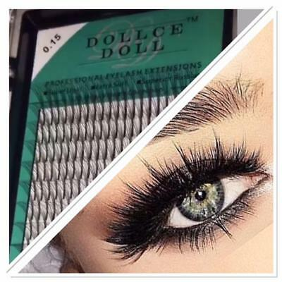 08a3a108597 ... Dollce Doll Premade Russian Volume Lash Fans 3D Semi Permanent Eyelash  Extension 2