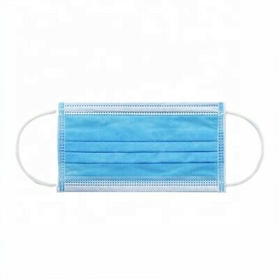 (5/10/20/40) Pack  3PLY Face Mask Medical Surgical Dental Mouth Cover Disposable 4