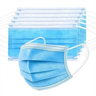 (5/10/20/40) Pack  3PLY Face Mask Medical Surgical Dental Mouth Cover Disposable 3
