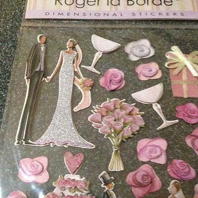 ROGER LA BORDE*Karte+9*3D*Stanzteile*Pop/&Slot*Hochzeit*Paar*Auto*Torte*Wedding *