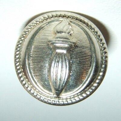 LOT DE 2 BOUTONS ARGENTES C.R.S. - 15 mm à lamelles - Fab T.W.&W.