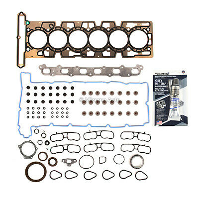 ReRing Kit w//Full Gasket Set Rings Bearings FITS 2002-2004 Ford Focus SVT 2.0L DOHC L4 16v ZETEC