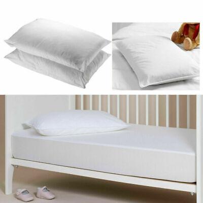 Cot Bed Pillow Hollow fiber Nursery Baby Toddler Junior New Pillows Anti Allergy 2