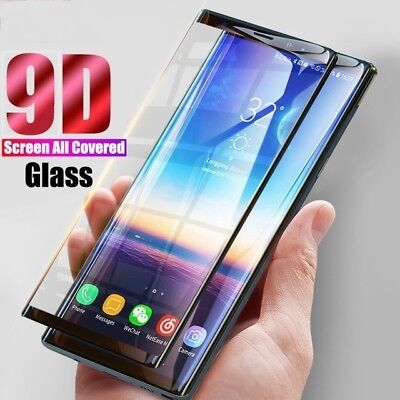 9D Screen Protector For Samsung Galaxy S8 S9 Plus Note 8 Note 9 Tempered Glass 5