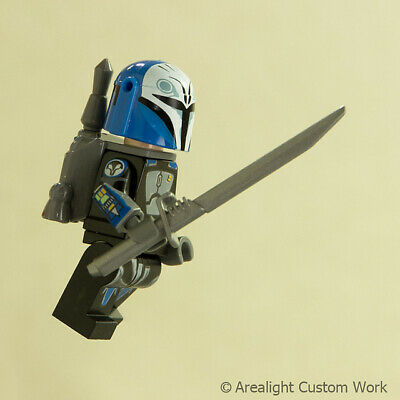 Custom DARKSABER Darkblade for Minifigures -Star Wars Pre Vizsla -Pick Color! 5