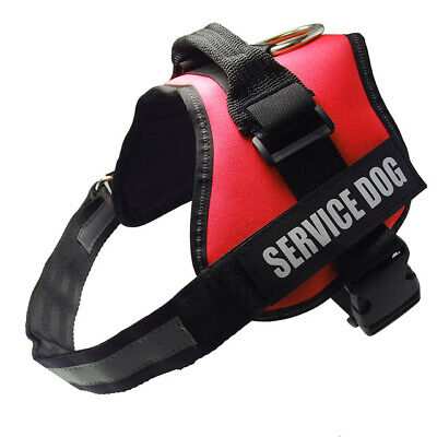 Service Dog Vest Harness Adjustable Patches Reflective Small Large Medium XS-XL 2