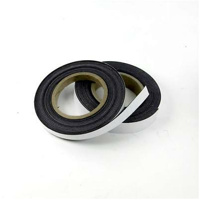 Self Adhesive Magnetic Tape Flexible Craft Sticky Magnet Strip 1m 5m 10m 20m 30m 2