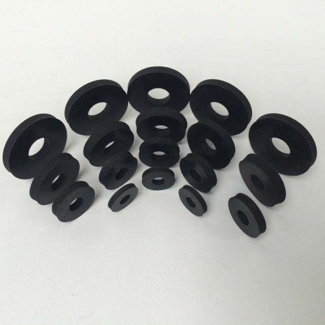 Gummischeiben,Unterlegscheibe Gummi,Gummiunterlegscheiben M3 M4 M5 M6 M8 M10 M12 2